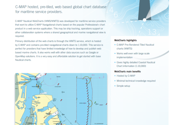 Nautical Web Charts